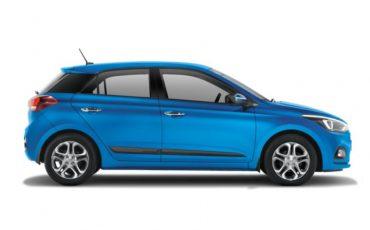 Hyundai i20 blue, 1400cc