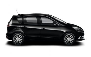 Renault Scenic black, 1.500cc